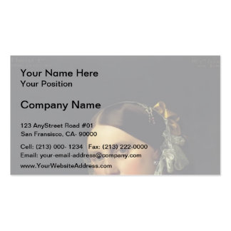 Jean Ingres- Delphine Ramel, Madame Ingres Double-Sided Standard Business Cards (Pack Of 100)