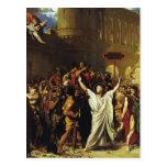 Jean Ingres- el martirio de St. Symphorian Tarjetas Postales