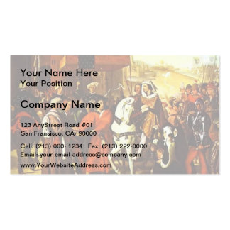 Jean Ingres- Entrance of Dauphin Double-Sided Standard Business Cards (Pack Of 100)