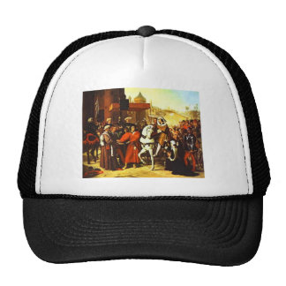 Jean Ingres- Entrance of Dauphin Trucker Hat