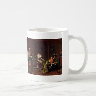 Jean Ingres-Henry IV Recieving Ambassador of Spain Coffee Mugs