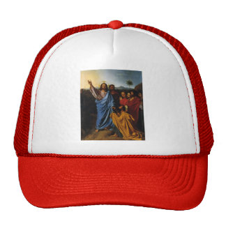 Jean Ingres- Jesus Returning the Keys to St. Peter Trucker Hat