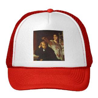 Jean Ingres-Luigi Cherubini & Muse of Lyric Poetry Trucker Hat