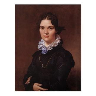 Jean Ingres- Mademoiselle Jeanne Gonin Postcard