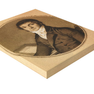Jean Ingres Pierre Guillaume Cazeaux half-length Gallery Wrapped Canvas