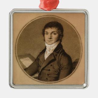 Jean Ingres: Pierre Guillaume Cazeaux, half-length Ornament