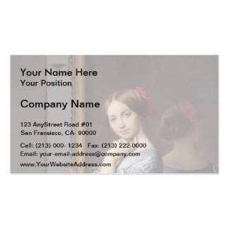 Jean Ingres- Portrait of Countess D'Haussonville Business Card