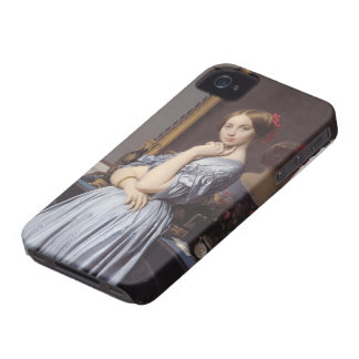 Jean Ingres- Portrait of Countess D'Haussonville iPhone 4 Cover
