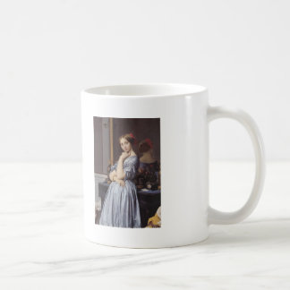 Jean Ingres- Portrait of Countess D'Haussonville Coffee Mugs