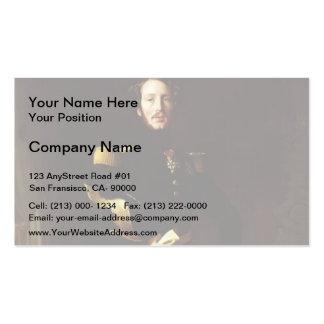Jean Ingres- Portrait of Ferdinand-Philippe Business Card