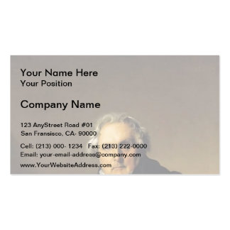 Jean Ingres- Portrait of French journalist Business Cards