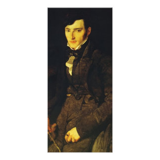 Jean Ingres- Portrait of Jean-Pierre-Gilibert Personalized Rack Card