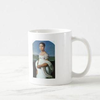 Jean Ingres- Portrait of Mademoiselle Rivière Coffee Mugs