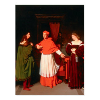 Jean Ingres- The Betrothal of Raphael Postcard