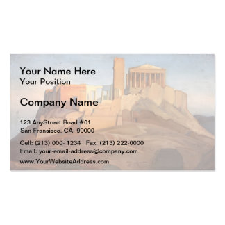 Jean Ingres- View of the Acropolis of Athens Business Card
