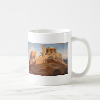 Jean Ingres- View of the Acropolis of Athens Coffee Mug