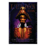 Jean-Jacques Dessalines carving Poster