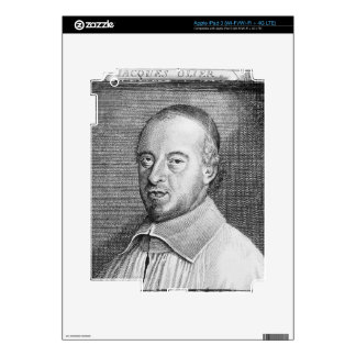 Jean Jacques Olier (1608-57) (engraving) (b/w phot iPad 3 Decals