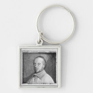 Jean Jacques Olier (1608-57) (engraving) (b/w phot Keychain