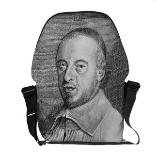 Jean Jacques Olier (1608-57) (engraving) (b/w phot Messenger Bag