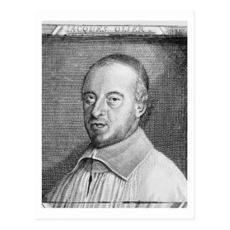 Jean Jacques Olier (1608-57) (engraving) (b/w phot Postcard