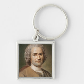 Jean-Jacques Rousseau  after 1753 Keychain