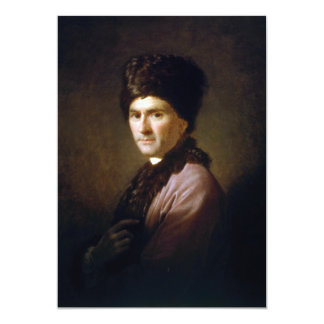 Jean-Jacques Rousseau by Allan Ramsay (1766) 5x7 Paper Invitation Card