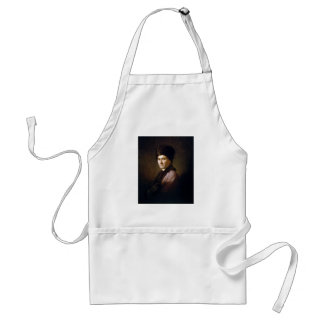 Jean-Jacques Rousseau by Allan Ramsay (1766) Adult Apron