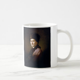 Jean-Jacques Rousseau by Allan Ramsay (1766) Classic White Coffee Mug