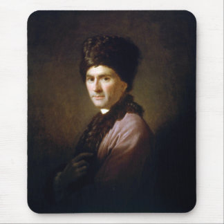 Jean-Jacques Rousseau by Allan Ramsay (1766) Mouse Pad