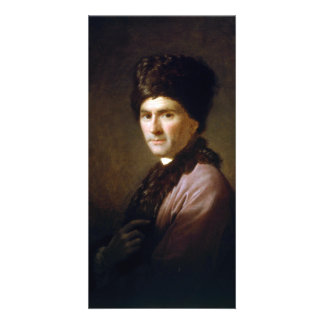 Jean-Jacques Rousseau by Allan Ramsay (1766) Photo Card