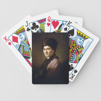 Jean-Jacques Rousseau by Allan Ramsay (1766) Bicycle Poker Cards
