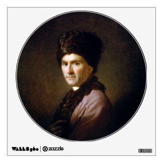 Jean-Jacques Rousseau by Allan Ramsay (1766) Wall Decal