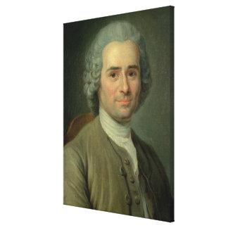 Jean-Jacques Rousseau Canvas Print