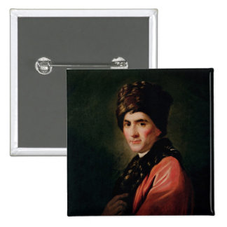 Jean-jacques Rousseau Pin Cuadrada 5 Cm