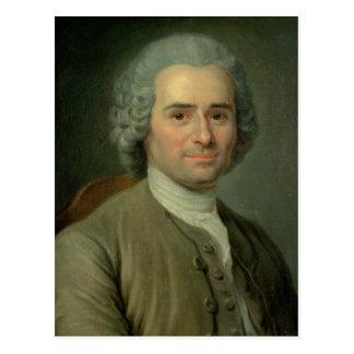 Jean-Jacques Rousseau Post Card