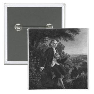 Jean-Jacques Rousseau que compone 'Emile Pin Cuadrado