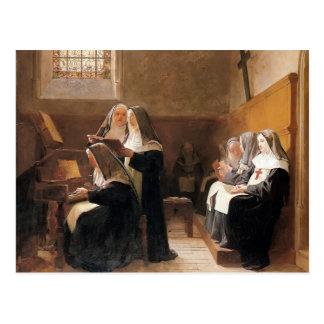 Jean Jorte Vibert- el coro del convento Postales