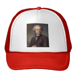 Jean Le Rond d'Alembert by Maurice Quentin Tour Mesh Hats