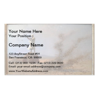 Jean-Leon Gerome- Arab Frightening Larks Away Double-Sided Standard Business Cards (Pack Of 100)