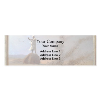 Jean-Leon Gerome- Arab Frightening Larks Away Double-Sided Mini Business Cards (Pack Of 20)