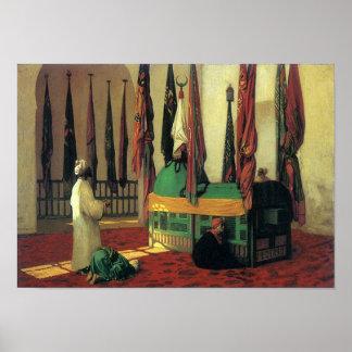 Jean Léon Gérôme - arte islámico del mausoleo Impresiones