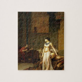 Jean-Leon Gerome- Cleopatra and Caesar Jigsaw Puzzle
