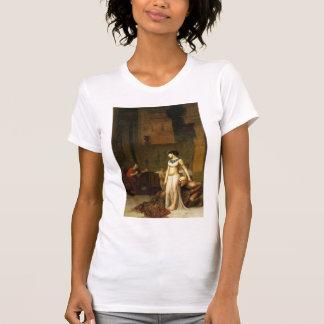 Jean-Leon Gerome- Cleopatra and Caesar T-shirts