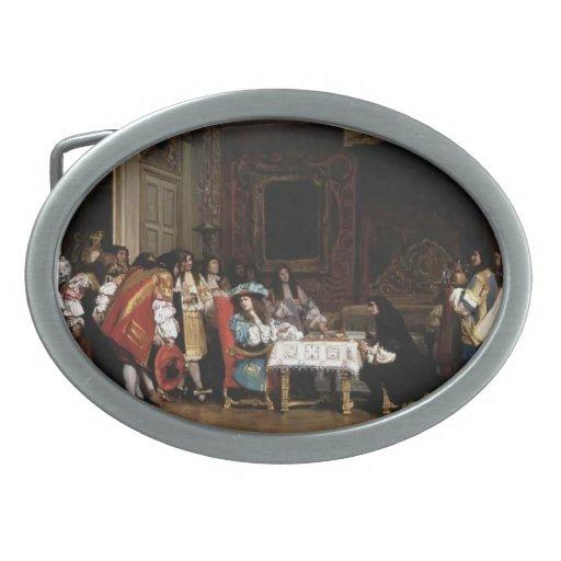 Jean-León Gerome- Louis XIV y Moliere Hebilla Cinturón