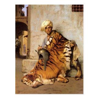 Jean-Leon Gerome- Pelt Merchant of Cairo Postcard