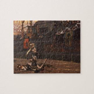 Jean-Leon Gerome- Pollice Verso Jigsaw Puzzle