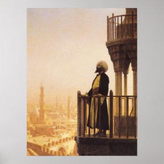 Jean Léon Gérôme - una llamada al arte islámico de Póster