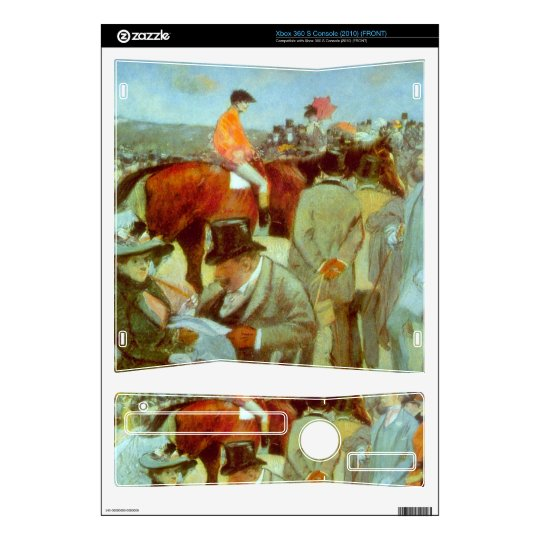 Jean-Louis Forain - At the Races Xbox 360 S Console Skins
