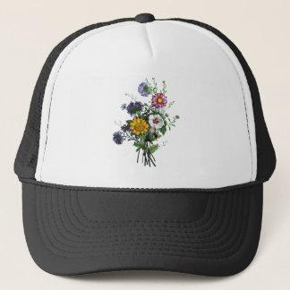 Jean Louis Prevost Bouquet of Flowers Trucker Hat